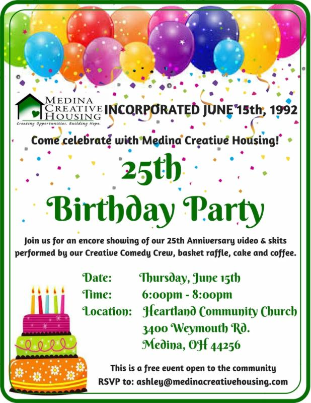 Invites Community To 25th Birthday Celebration Come Celebrate With