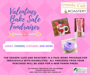 Valentines Bake Sale facebook